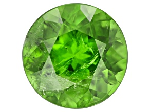 Demantoid Garnet 6.5mm Round 1.16ct mm