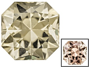 Diaspore Color Change 5mm Square Octagonal  0.60ct
