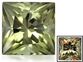 Zultanite Color Change 10mm Square Princess Cut 5.25ct
