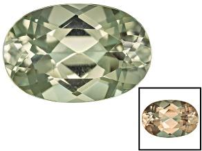 Zultanite Color Change 12x8mm Oval 3.50ct