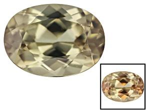 Diaspore Color Change 8x6mm Oval 1.74ct