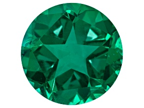 Green Quartz Triplet Gemstone 5.50ctw 12mm Round