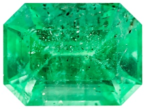 Ethiopian Emerald 8x6mm Emerald Cut 1.37ct