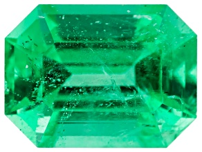 Ethiopian Emerald 8x6mm Emerald Cut 1.43ct