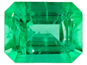 Ethiopian Emerald 8x6mm Emerald Cut 1.31ct