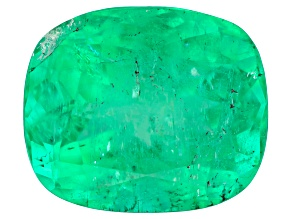 Colombian Emerald 9.8x8.3mm Rectangular Cushion 3.11ct