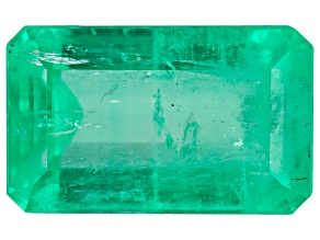 Emerald 4.54ct 12x7.4mm Rec Oct Trtd Mined: Colombia Cut: Colombia