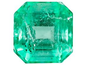 Colombian Emerald 7x6.8mm Rectangular Octagonal 1.54ct