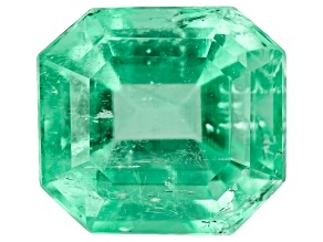 2.01ct Colombian Emerald 8x7.4mm Rect Oct
