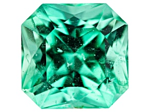 Emerald Ethiopia 6.4mm square octagonal princess cut 1.20ct
