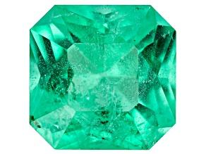 Emerald Ethiopia 7x7x4.7mm Square Octagonal Princess Cut 1.33ct