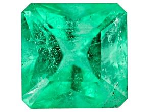 Emerald Ethiopian 5.4mm Square Octagonal Princess Cut 0.75ct