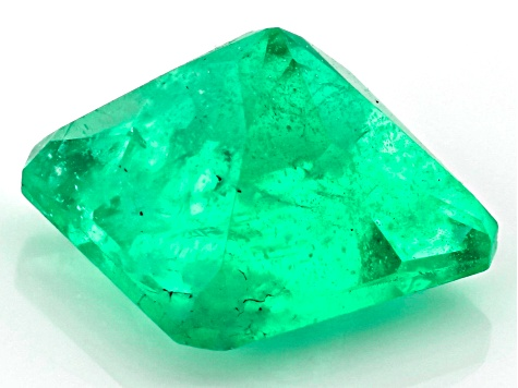 Emerald Ethiopian 5.4mm Square Octagonal Princess Cut 0.75ct