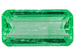 Emerald 6x3mm Emerald cut .30ct