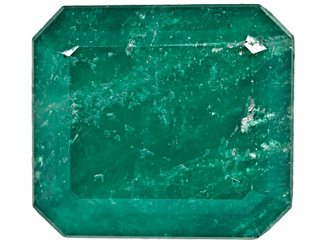 Colombian Emerald 7.56ct 12.08x10.87mm Emerald Cut