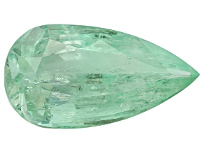 Green Beryl 39.04ct 32.57x17.52x14.81mm Pear Shape