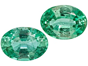 Emerald 7x5mm Oval Matched Pair 1.50ctw