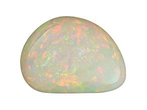 Ethiopian Opal 21.5x15.5mm Free Form Cabochon 20.74ct