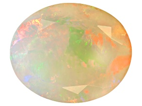 Ethiopian Opal 12x10mm Oval 2.90ct