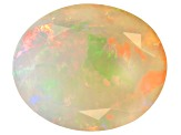Ethiopian Opal 12x10mm Oval 2.90ct