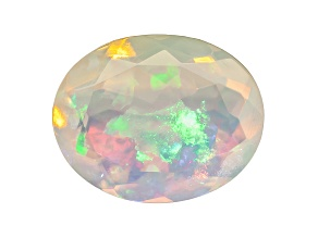 Ethiopian Opal 10x8mm Oval 1.50ct