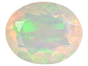 Ethiopian Opal 10x8mm Oval 1.25ct