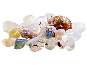 Ethiopian Opal Mixed Shape Tumbled Parcel 20.00ctw