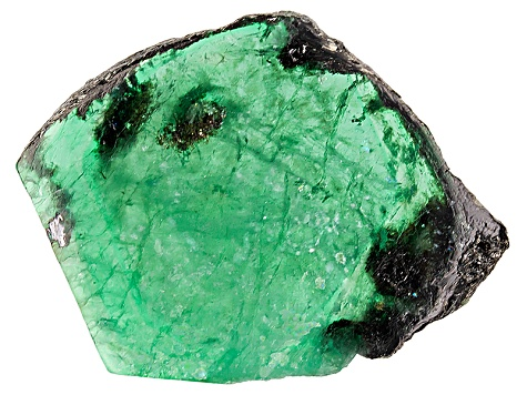 Emerald Free Form Slices 33.50ct