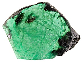 Emerald Free Form Slice 33.50ct