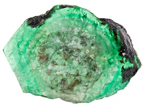Emerald Free Form Slice 42.00ct