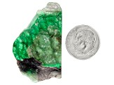 Emerald Free Form Slice 39.00ct