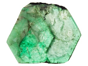 Emerald Free Form Slice 27.00ct