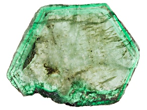 Emerald Free Form Slice 24.50ct