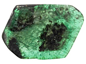 Emerald Free Form Slice 20.00ct