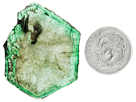 Emerald Free Form Slices 17.50ct