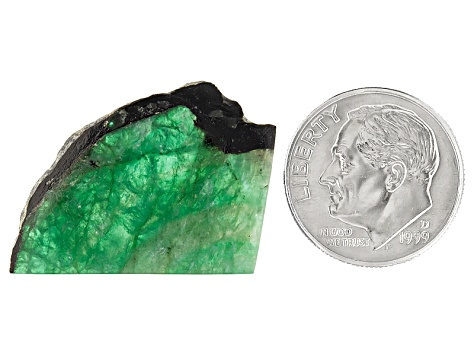 Emerald Free Form Slices 11.00ct
