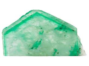 Emerald 29.56x16.98mm Free Form Slice 23.27ct