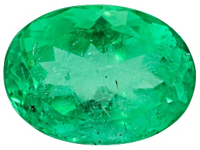 Colombian Emerald 11.4x8.3mm Oval Cut 3.45ct