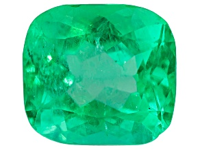 2.50ct 8.9x8.1mm Rect Cush Colombian Emerald