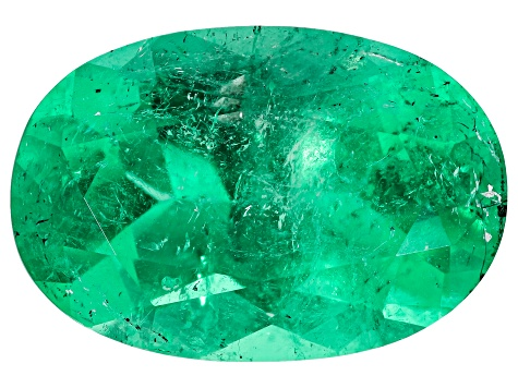 Colombian Emerald 13x8.8mm Oval Cut 4.02ct
