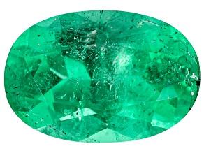 Colombian Emerald 13x8.8mm Oval Cut 4.02ct