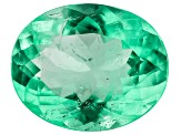 Colombian Emerald 13.8x11.2mm Oval Cut 5.39ct
