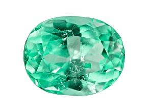 Colombian Emerald 8x6.2mm Oval Cut 1.51ct