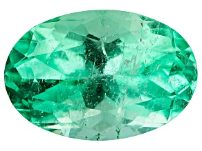 Colombian Emerald 10.6x7.2mm Oval Cut 2.38ct