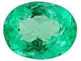 Colombian Emerald 7.8x6.1mm Oval Cut 1.14ct
