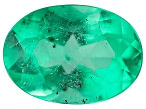 Colombian Emerald 7x5mm Oval Cut 0.69ct