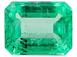 Colombian Emerald 8.4x6.75mm Emerald Cut 1.97ct