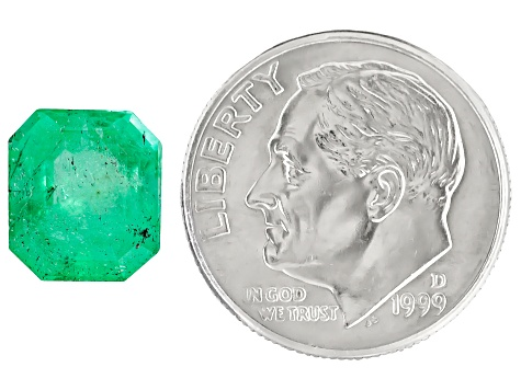 Colombian Emerald 9.3x8.3mm Emerald Cut 2.64ct