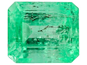 Colombian Emerald 8.55x7.4mm Emerald Cut 2.40ct