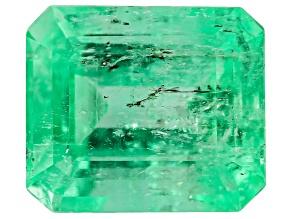 Colombian Emerald 8.55x7.4mm Emerald Cut 2.40ct